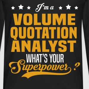 Volume Quotation Analyst - Men's Premium Long Sleeve T-Shirt