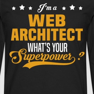 Web Architect - Men's Premium Long Sleeve T-Shirt
