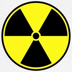 Radioactive symbol - Adjustable Apron