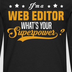 Web Editor - Men's Premium Long Sleeve T-Shirt