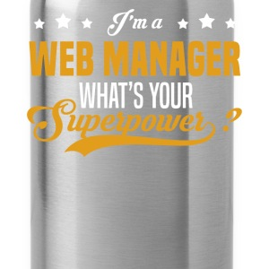 Web Manager - Water Bottle