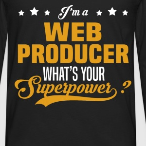 Web Producer - Men's Premium Long Sleeve T-Shirt