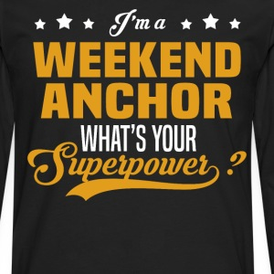 Weekend Anchor - Men's Premium Long Sleeve T-Shirt