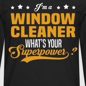 Window Cleaner - Men's Premium Long Sleeve T-Shirt