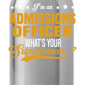 Admissions Officer T-Shirts - Water Bottle