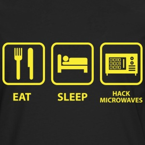 Hack Microwaves - Men's Premium Long Sleeve T-Shirt