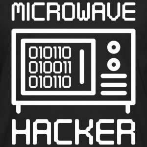 Microwave Hacker - Men's Premium Long Sleeve T-Shirt