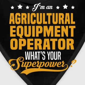 Agricultural Equipment Operator T-Shirts - Bandana