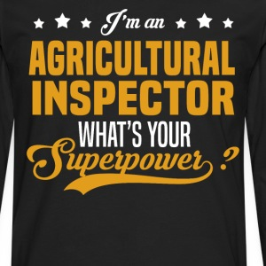 Agricultural Inspector T-Shirts - Men's Premium Long Sleeve T-Shirt