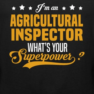 Agricultural Inspector T-Shirts - Men's Premium Tank