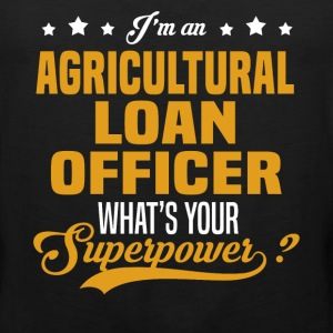 Agricultural Loan Officer T-Shirts - Men's Premium Tank