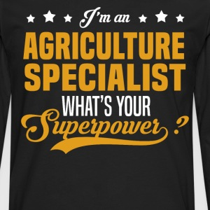 Agriculture Specialist T-Shirts - Men's Premium Long Sleeve T-Shirt