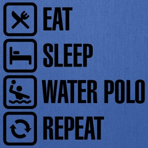 Eat Sleep Water Polo Repeat Kids' Shirts - Tote Bag