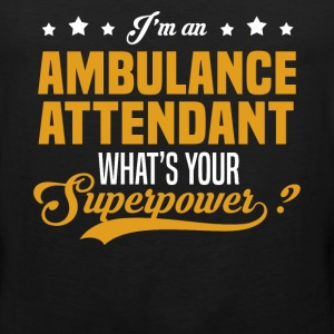 Ambulance Attendant T-Shirts - Men's Premium Tank