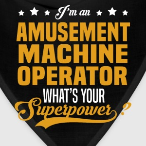 Amusement Machine Operator T-Shirts - Bandana