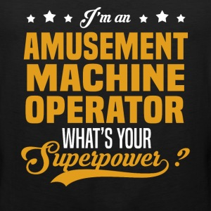 Amusement Machine Operator T-Shirts - Men's Premium Tank
