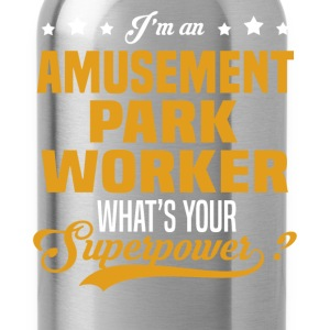 Amusement Park Worker T-Shirts - Water Bottle