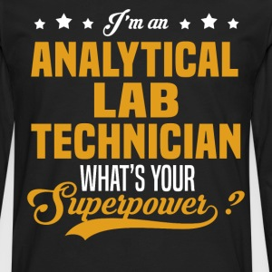 Analytical Lab Technician T-Shirts - Men's Premium Long Sleeve T-Shirt