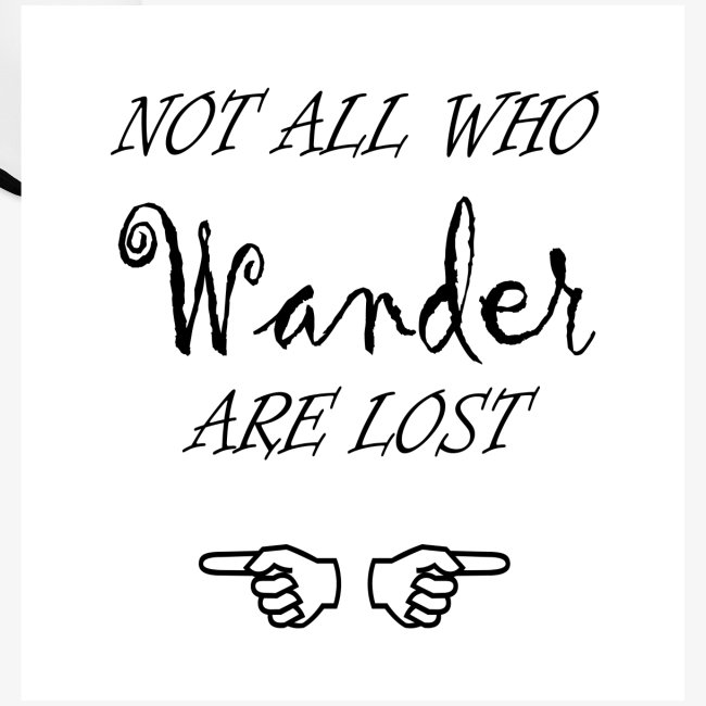 Wander Lost Mug