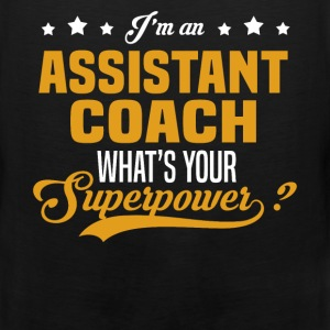 Assistant Coach T-Shirts - Men's Premium Tank
