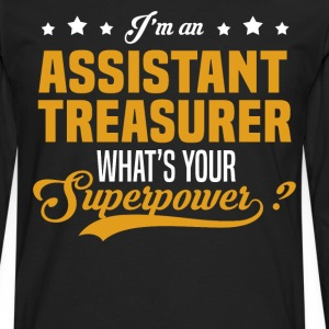 Assistant Treasurer T-Shirts - Men's Premium Long Sleeve T-Shirt