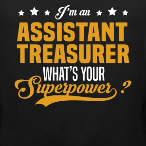 Assistant Treasurer T-Shirts - Men's Premium Tank