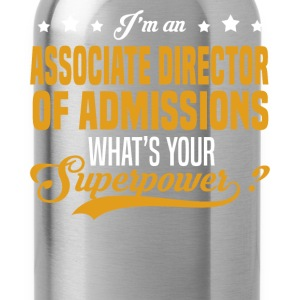 Associate Director of Admissions T-Shirts - Water Bottle