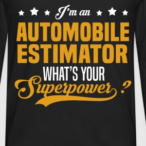 Automobile Estimator T-Shirts - Men's Premium Long Sleeve T-Shirt