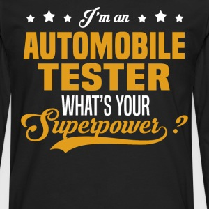 Automobile Tester T-Shirts - Men's Premium Long Sleeve T-Shirt