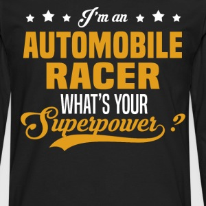 Automobile Racer T-Shirts - Men's Premium Long Sleeve T-Shirt