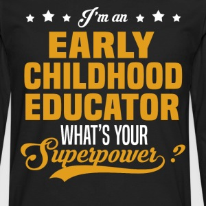 Early Childhood Educator T-Shirts - Men's Premium Long Sleeve T-Shirt