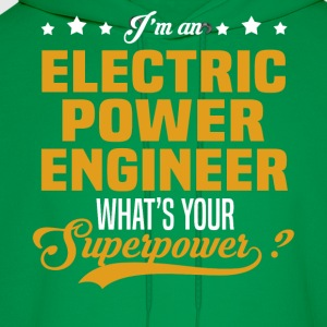 Electric Power Engineer T-Shirts - Men's Hoodie