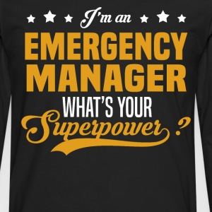 Emergency Manager T-Shirts - Men's Premium Long Sleeve T-Shirt