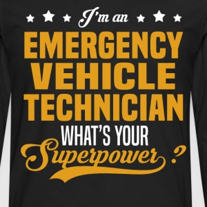 Emergency Vehicle Technician T-Shirts - Men's Premium Long Sleeve T-Shirt