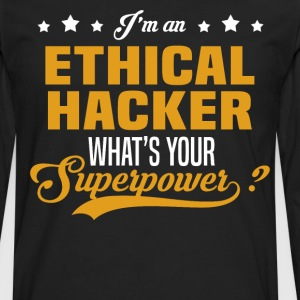Ethical Hacker T-Shirts - Men's Premium Long Sleeve T-Shirt