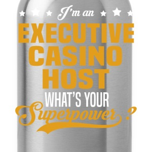 Executive Casino Host T-Shirts - Water Bottle