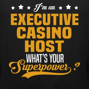 Executive Casino Host T-Shirts - Men's Premium Tank