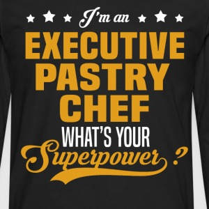 Executive Pastry Chef T-Shirts - Men's Premium Long Sleeve T-Shirt