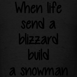Blizzard Stella Snowman - Men's T-Shirt