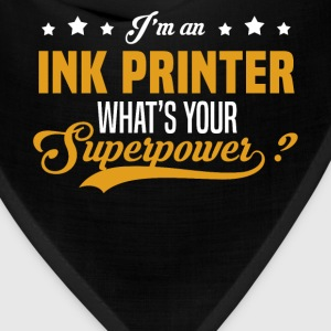Ink Printer T-Shirts - Bandana