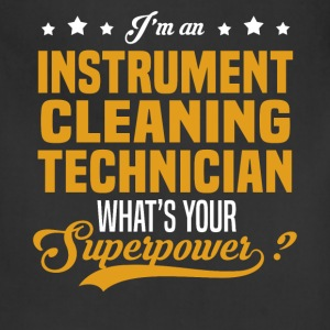 Instrument Cleaning Technician T-Shirts - Adjustable Apron