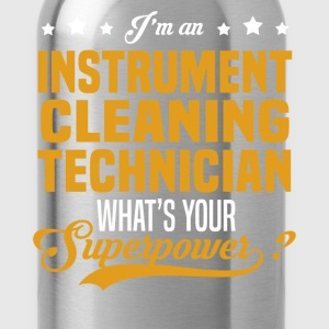 Instrument Cleaning Technician T-Shirts - Water Bottle