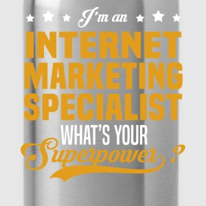 Internet Marketing Specialist T-Shirts - Water Bottle