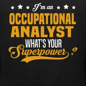 Occupational Analyst T-Shirts - Men's Premium Tank