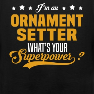 Ornament Setter T-Shirts - Men's Premium Tank