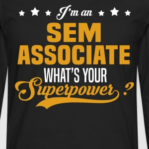 SEM Associate T-Shirts - Men's Premium Long Sleeve T-Shirt