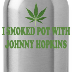 I Smoked Pot With Johnny Hopkins - Step Brothers T-Shirts - Water Bottle