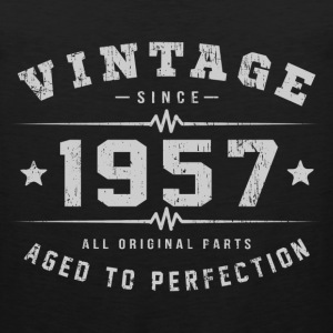Vintage 1957 Aged To Perfection T-Shirts - Men's Premium Tank