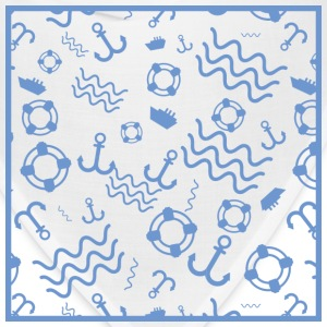 Sea Pattern - Bandana