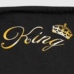 King Crown T-Shirts - Sweatshirt Cinch Bag